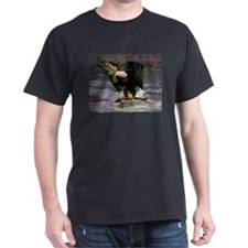 EAGLE CATCHING A SALMON T-Shirt