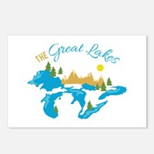 The Great Lakes Postcards (Package of 8)