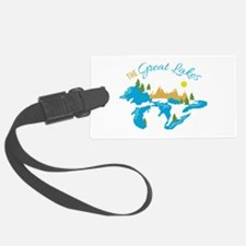 The Great Lakes Luggage Tag
