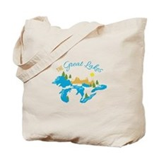The Great Lakes Tote Bag