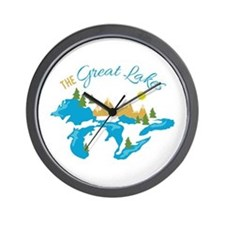 The Great Lakes Wall Clock