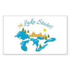 The Lake States Decal