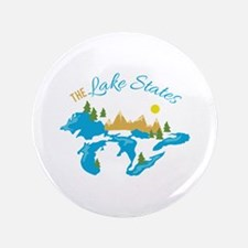 "The Lake States 3.5"" Button"