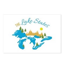 The Lake States Postcards (Package of 8)