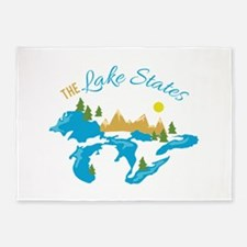 The Lake States 5'x7'Area Rug