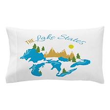 The Lake States Pillow Case