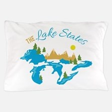 The Lake States Pillow Case