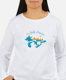 The Lake States Long Sleeve T-Shirt