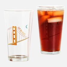 Left My Heart Drinking Glass