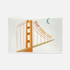 Great Golden Gate Magnets
