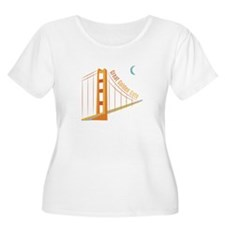Great Golden Gate Plus Size T-Shirt