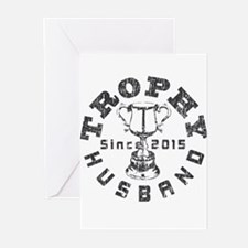 Trophy Husband Since 201 Greeting Cards (Pk of 10)