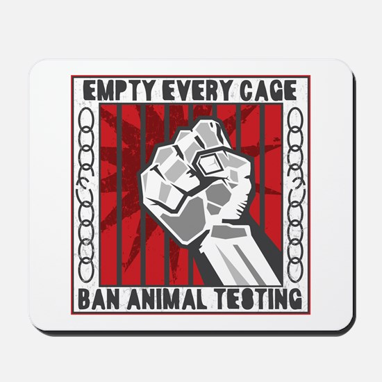 Empty Every Cage Mousepad