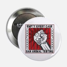 "Empty Every Cage 2.25"" Button"