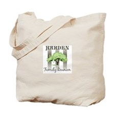 HARDEN family reunion (tree) Tote Bag