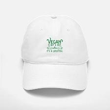 Vegan is Not a Diet Baseball Baseball Cap
