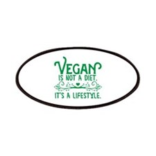 Vegan is Not a Diet Patches