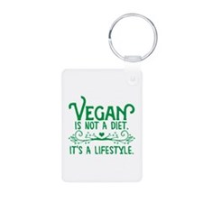 Vegan is Not a Diet Keychains