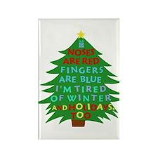 Funny Bah Humbug Christmas Poem Magnets