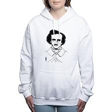 Portrait of Edgar Allen Women's Hooded Sweatshirt