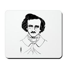 Portrait of Edgar Allen Poe Mousepad