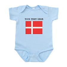 Custom Denmark Flag Body Suit