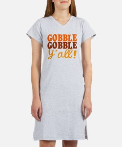 Gobble Gobble Y'all! Women's Nightshirt