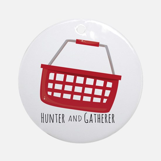 Hunter And Gatherer Ornament (Round)