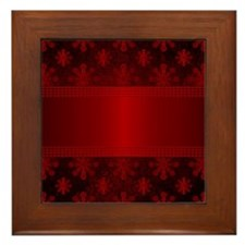 Cute Christmas Framed Tile