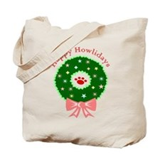 Happy Howlidays Tote Bag