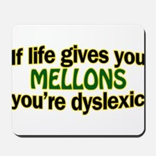 Life gives you melons Mousepad