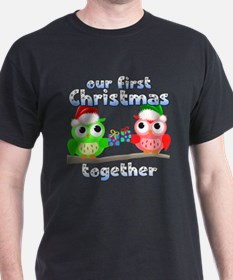 Our First Christmas Owls T-Shirt