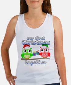 Our First Christmas Owls Women's Tank Top