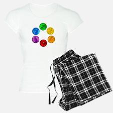 Celtic Animal Symbols Pajamas