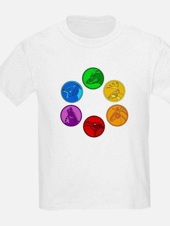 Celtic Animal Symbols T-Shirt