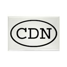 CDN Oval Rectangle Magnet