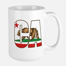 California Bear Flag Mugs