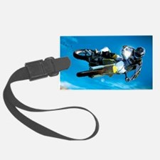 Motocross Side Trick Luggage Tag