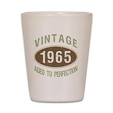 1965 Vintage Birth Year Shot Glass