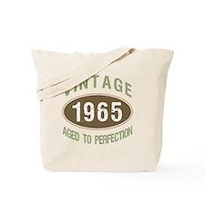 1965 Vintage Birth Year Tote Bag
