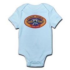 USS BENJAMIN FRANKLIN Infant Bodysuit
