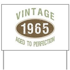 1965 Vintage Birth Year Yard Sign