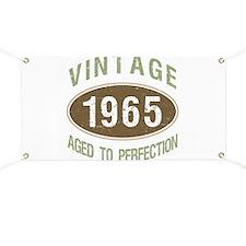 1965 Vintage Birth Year Banner