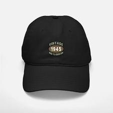 1945 Vintage Birth Year Baseball Hat