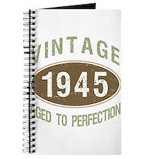 1945 Vintage Birth Year Journal