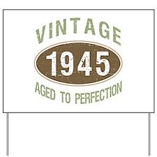1945 Vintage Birth Year Yard Sign