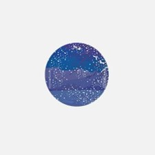 Snowy Night Mini Button