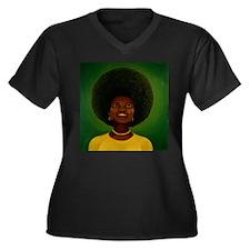 afro Plus Size T-Shirt