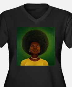 afro Plus Size T-Shirt