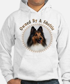 Owned By A Sheltie 999 Hoodie